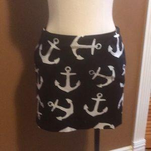 JCrew Anchor Skirt